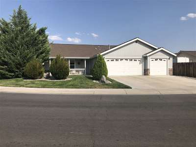 Fernley Single Family Home Active/Pending-Loan: 537 River Ranch Road