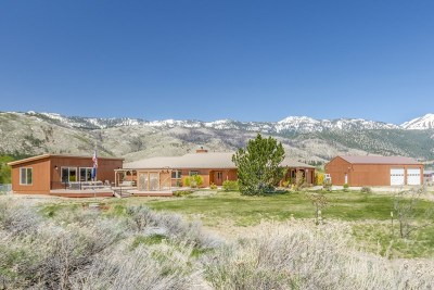 Washoe Valley Single Family Home Active/Pending-House: 5605 Old Us Highway 395 N