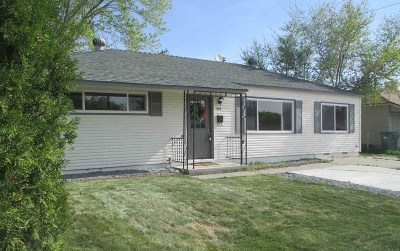 Sparks Single Family Home Active/Pending-Loan: 314 K Street