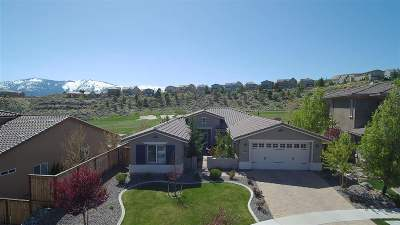 Reno Single Family Home Price Reduced: 1767 Fairway Hills Trail