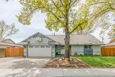 Sparks Single Family Home Active/Pending-Call: 1705 Zephyr Way