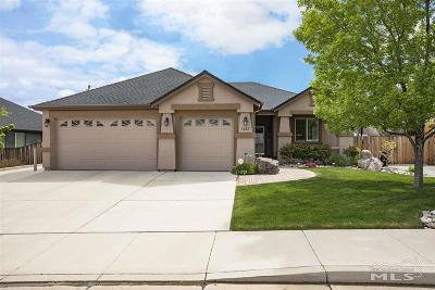 Sparks Single Family Home Active/Pending-Call: 1622 Kinglet Dr