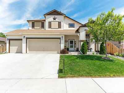 Fernley Single Family Home Active/Pending-Loan: 1619 Rainfall Way