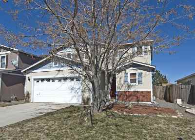 Reno Single Family Home Active/Pending-Loan: 7489 Deveron Dr