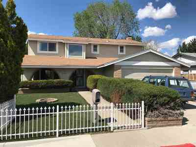 Sparks Single Family Home For Sale: 1712 Del Rosa