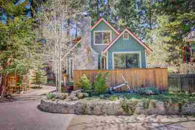 Zephyr Cove Single Family Home Active/Pending-Call: 589 Freel Dr