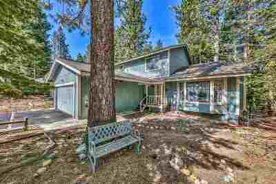 South Lake Tahoe CA Single Family Home For Sale: $679,000