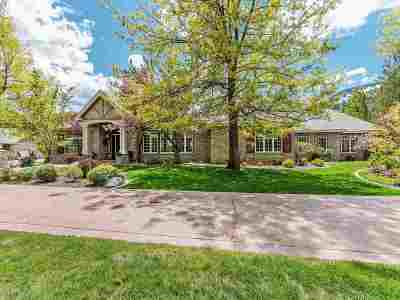 Washoe County Single Family Home For Sale: 7123 Franktown Road