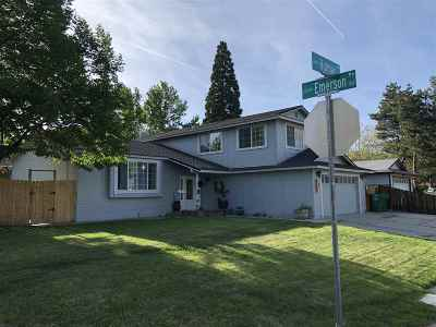 Sparks Single Family Home Active/Pending-Call: 3207 Holman Way