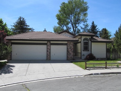 Carson City Single Family Home For Sale: 4752 Yukon Ct #Yukon Ct