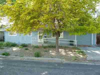 Yerington Single Family Home Active/Pending-Call: 307 Charlotte Ave.