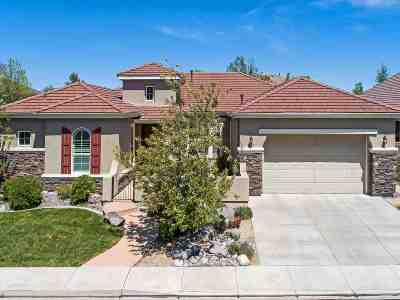 Reno Single Family Home For Sale: 1625 Picket Court