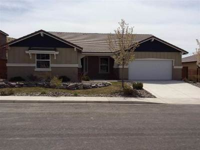Sparks Single Family Home For Sale: 3176 Vecchio Dr.