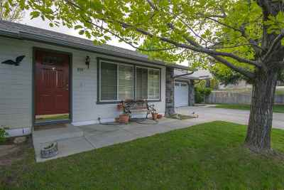 Carson City Single Family Home Price Reduced: 897 Kennedy Drive
