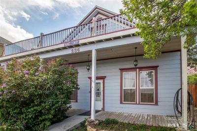Virginia City Single Family Home For Sale: 236 N B St.