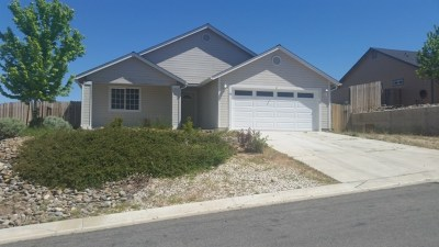 Gardnerville Single Family Home New: 38 Conner Way