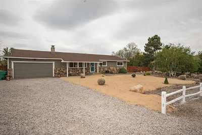 Reno Single Family Home Active/Pending-Loan: 5355 Cedarwood