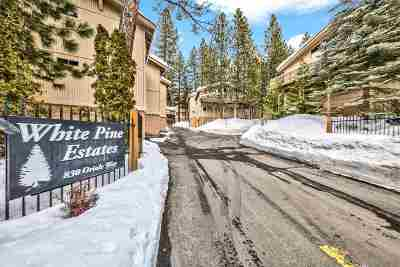 Incline Village Condo/Townhouse For Sale: 830 Oriole Way #4