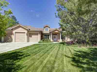 Reno Single Family Home For Sale: 3501 Cheechako Circle