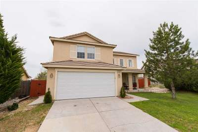 Reno Single Family Home Active/Pending-House: 11740 Claim Stake Drive