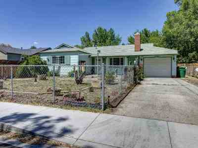 Sparks Single Family Home Price Reduced: 34 E L Street