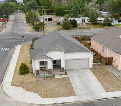 Fernley Single Family Home New: 568 Sunrise