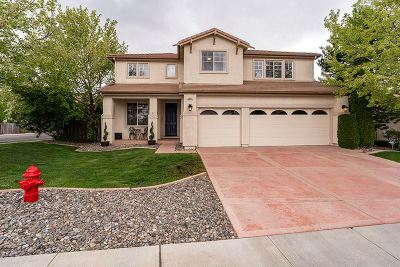 Reno Single Family Home New: 4895 Deer Pass Drive