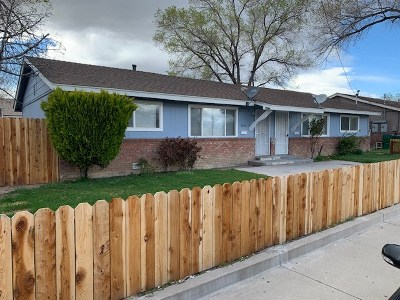 Reno Single Family Home New: 3675 Neil