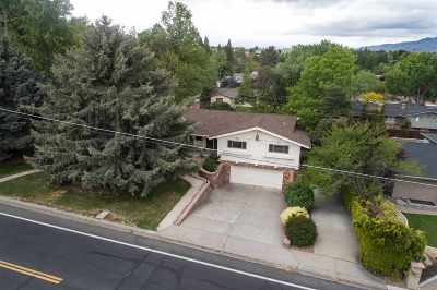 Reno Single Family Home New: 1501 Skyline Blvd