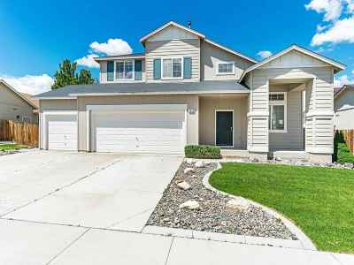 Fernley Single Family Home For Sale: 1618 Laverder