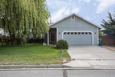 Sparks Single Family Home For Sale: 370 Nicole Drive