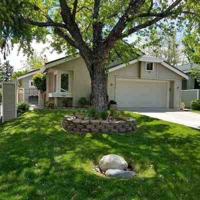 Reno Single Family Home Active/Pending-Loan: 1330 Gleneyre Ct