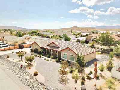 Fernley Single Family Home Price Reduced: 544 Saddle Horn Way