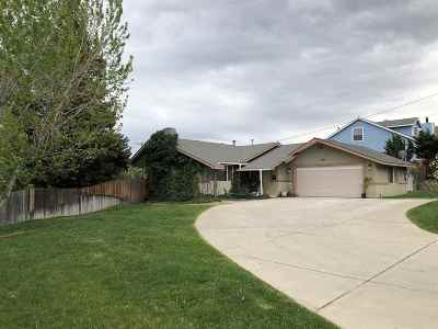 Carson City Single Family Home New: 1101 Coral Way