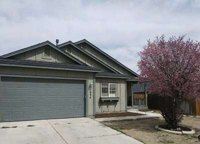 Fernley Single Family Home For Sale: 1034 Iris