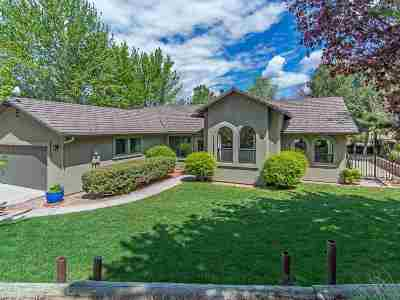 Carson City Single Family Home Active/Pending-Loan: 3656 Lakeview