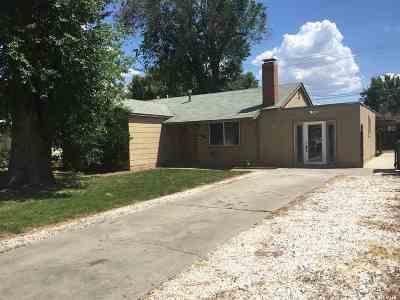 Washoe County Single Family Home Active/Pending-Call: 7 E. Greenbrae