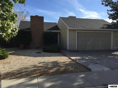 Carson City Single Family Home Active/Pending-House: 17 Castle Way