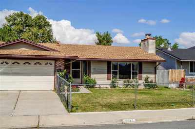 Sparks Single Family Home For Sale: 1116 El Capitan
