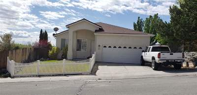 Carson City Single Family Home New: 2573 Table Rock