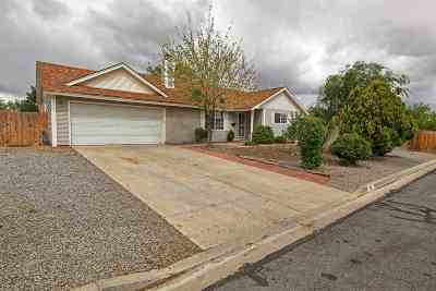 Fernley Single Family Home Active/Pending-Loan: 330 Maple