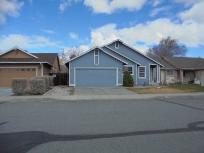 Carson City Single Family Home New: 134 E Gardengate Way