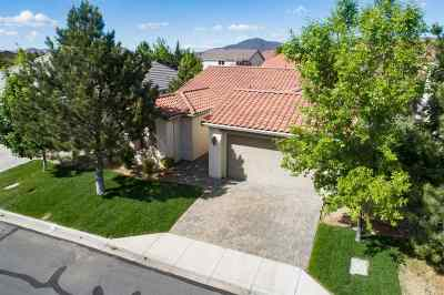 Washoe County Single Family Home New: 521 Beckfield