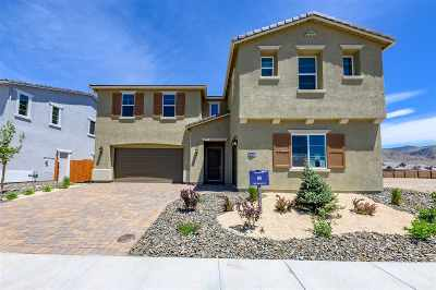 Reno Single Family Home New: 9298 Blue Basin Trail #Lot #85