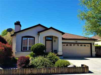 Carson City Single Family Home New: 1371 Shadowridge Drive