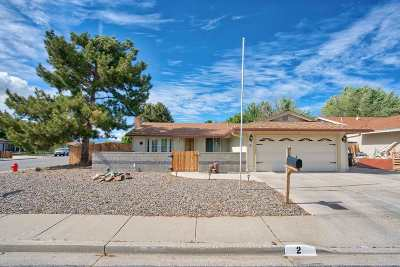 Carson City Single Family Home New: 2 Hazelwood Court