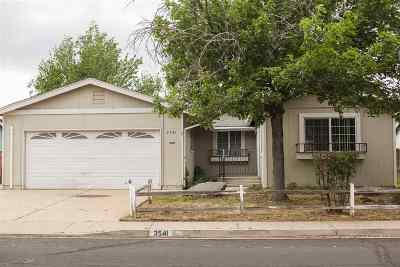 Reno Single Family Home New: 3541 Rio Poco