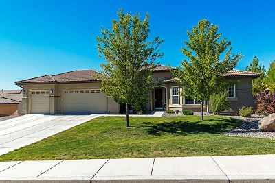 Reno Single Family Home New: 10345 Cavalry