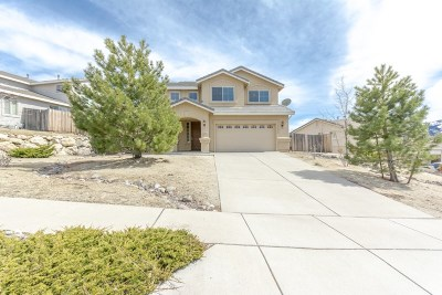 Reno Single Family Home New: 7460 Hunter Glen Drive