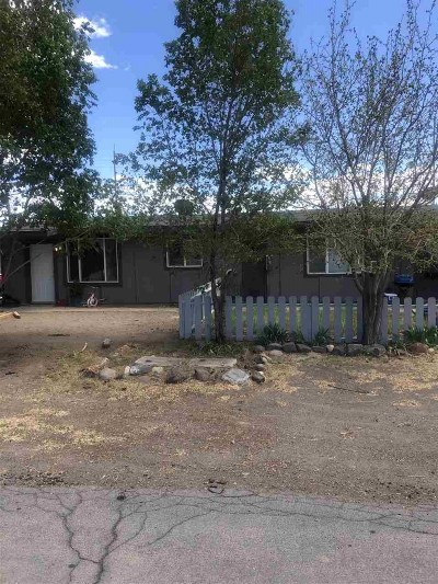 Fernley Multi Family Home Active/Pending-Call: 210 Circle Drive
